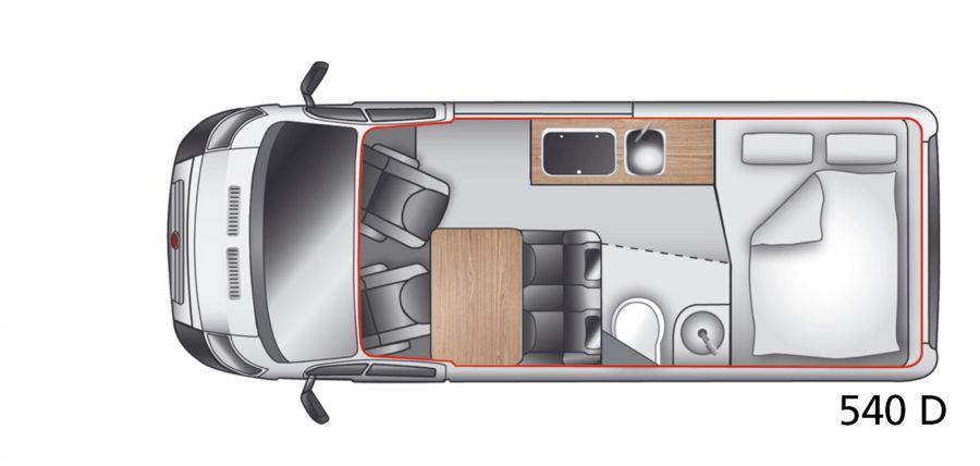 New 2017 Westfalia Amundsen 540d Motorhome 130hp Euro6 Ref
