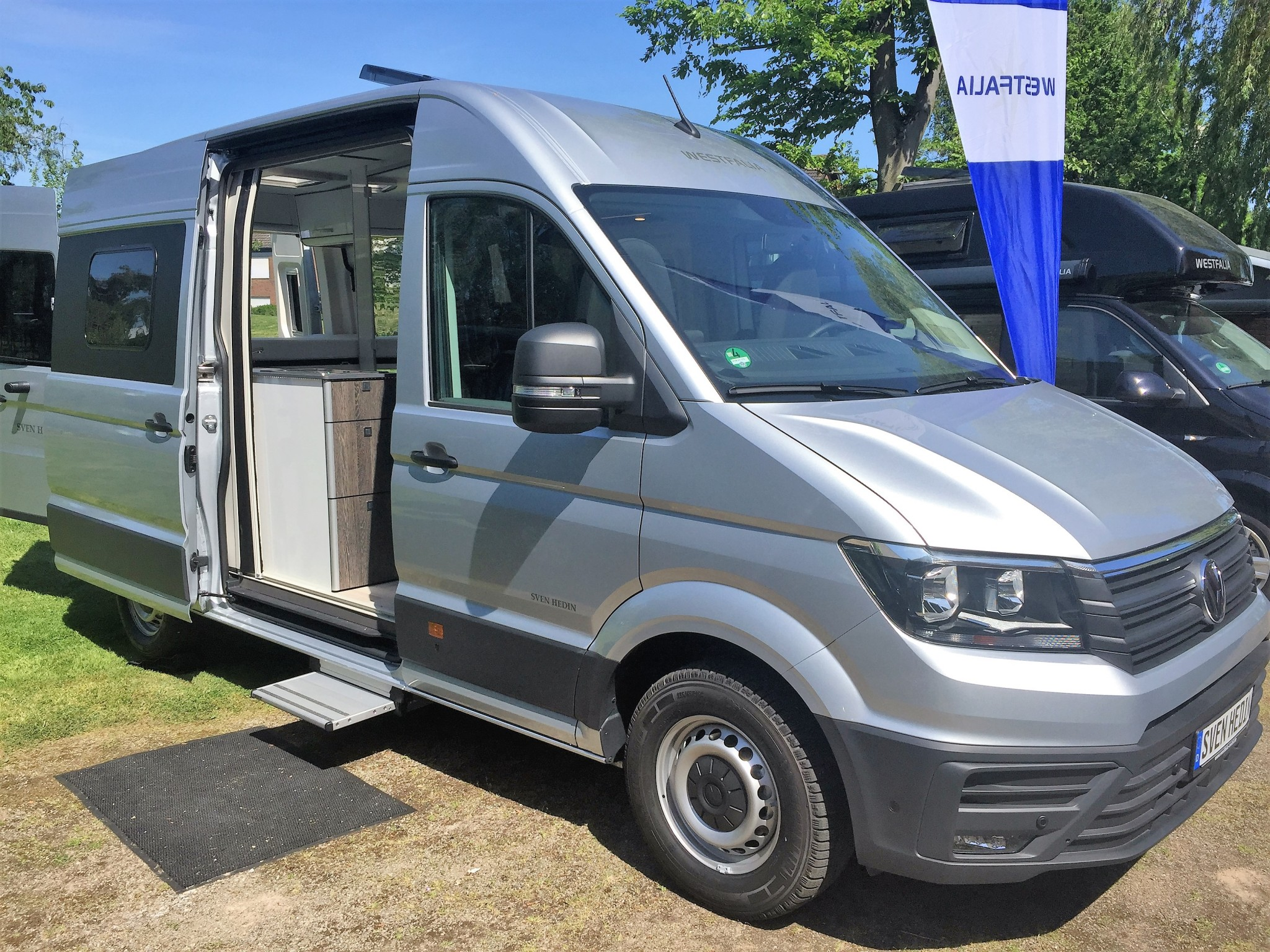 model   westfalia sven hedin motorhome vw crafter dsg automatic expected uk debut