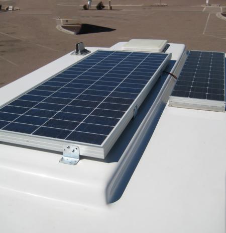 Motorhome Solar Panel System 100 130 Watt Roof Mounted