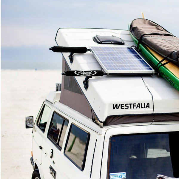 Motorhome Solar Panel System 100 130 Watt Roof Mounted