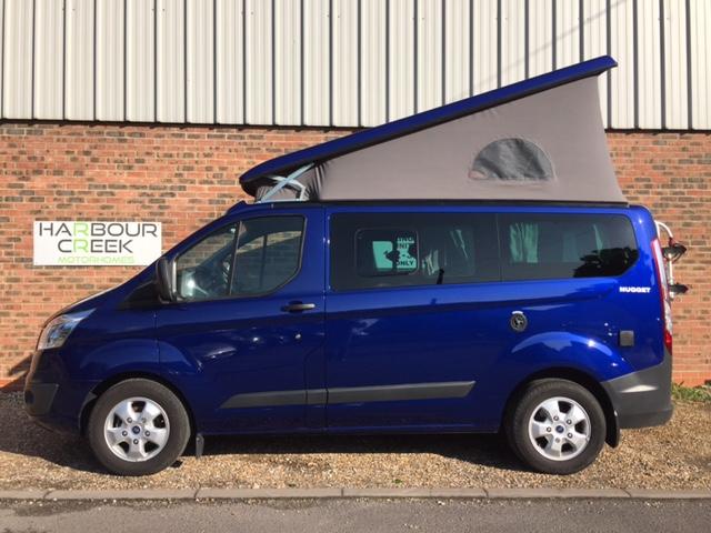 Westfalia Ford Nugget Motorhome Campervan Blue 2016 22L Diesel Manual 5 Seats Left Hand Drive