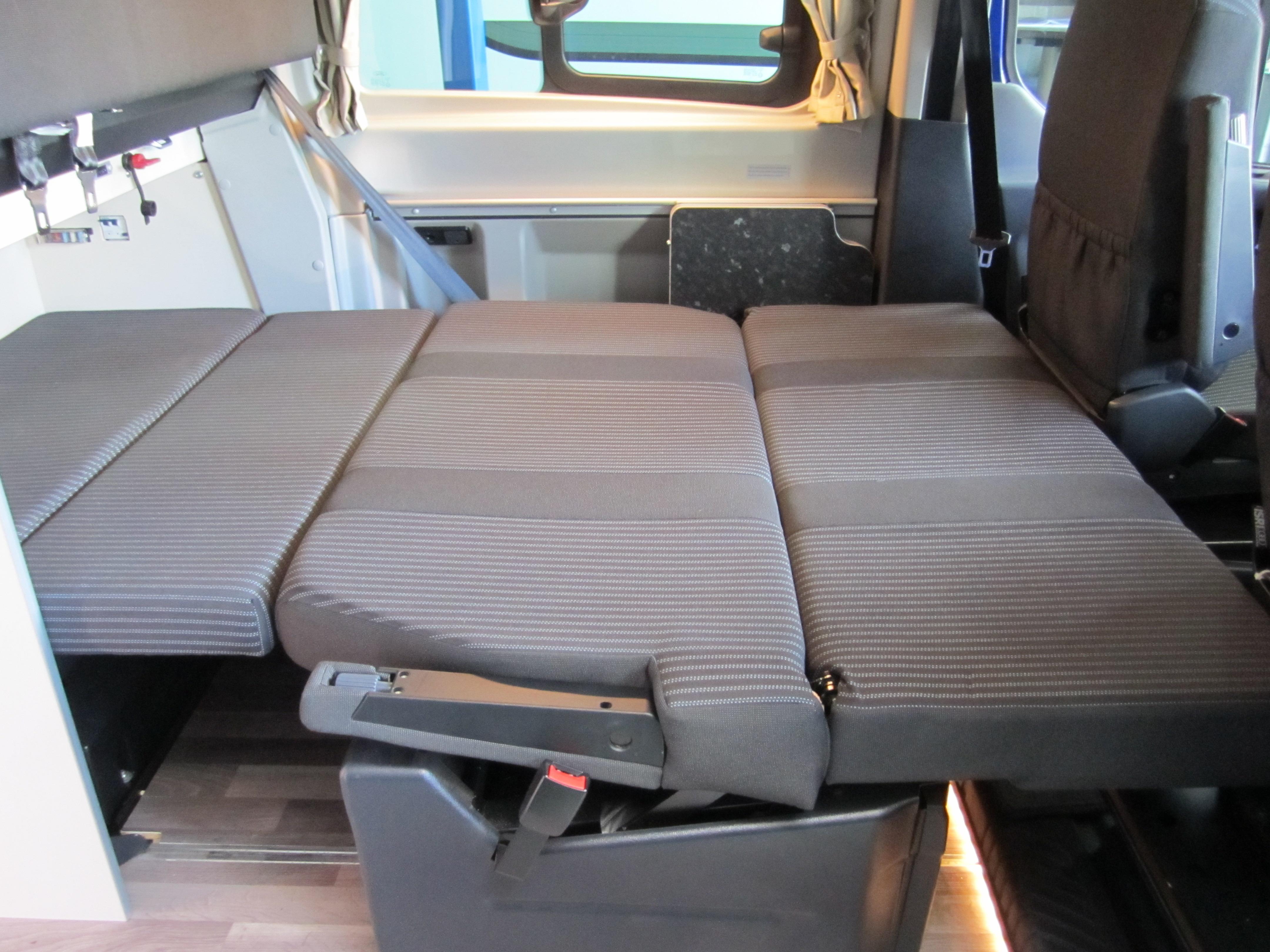 2016 Ford Westfalia Ford Nugget Campervan Blue 2 2l Diesel Manual