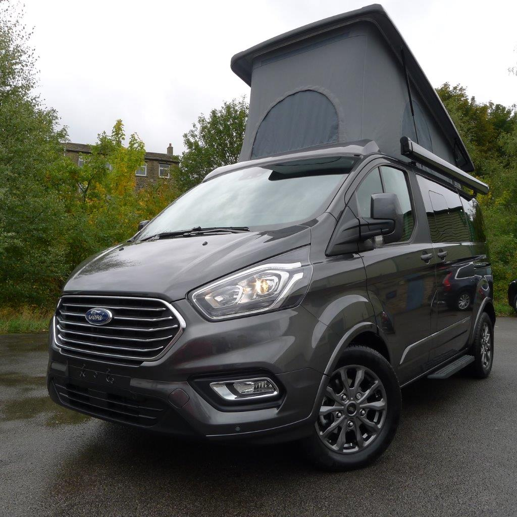 New 2019 Ford Tourneo Terrier Campervan In Magnetic Grey